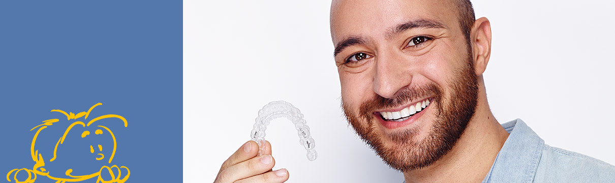 Invisalign, die fast unsichtbare Zahnspange